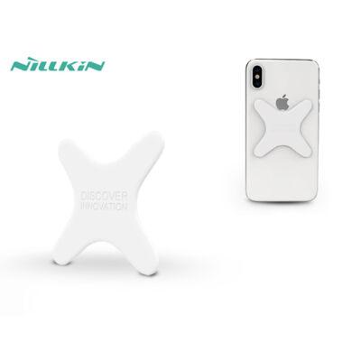 Univerzális hátlapra felragasztható mágnes Qi vezeték nélküli autós tartóhoz - Nillkin Magnetic Plate - fehér