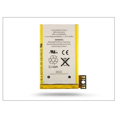 Apple iPhone 3GS gyári akkumulátor - 616-0433 - Li-Ion 1200 mAh (csomagolás nélküli)
