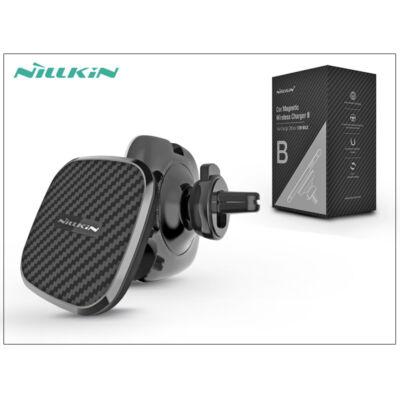 Nillkin Qi vezeték nélküli mágneses autó tartó/gyorstöltő - 5V/2A - Nillkin Car Magnetic Wireless Fast Charger II - Modell B - Qi szabványos