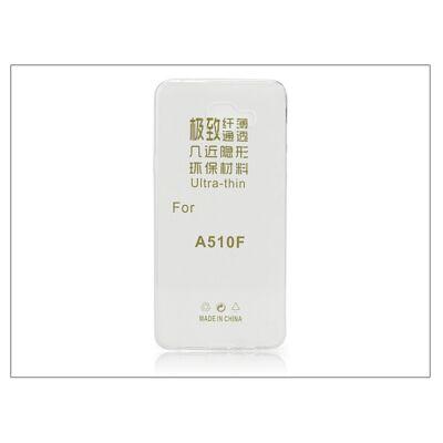 Samsung A510F Galaxy A5 (2016) szilikon hátlap - Ultra Slim 0,3 mm - transparent