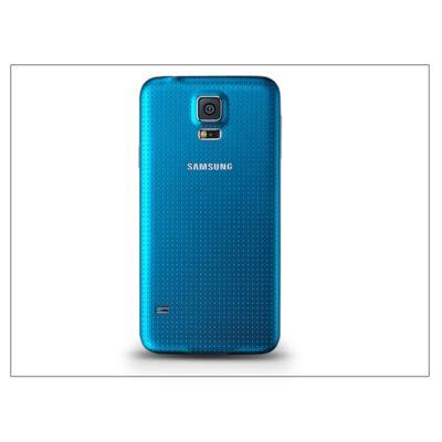 Samsung SM-G900 Galaxy S5 gyári akkufedél - kék