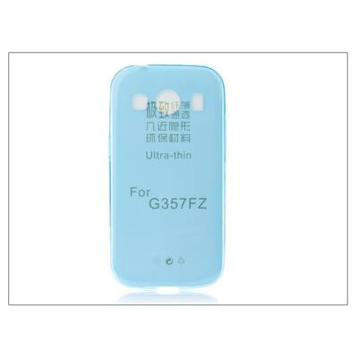 Samsung SM-G357FZ Galaxy Ace 4 szilikon hátlap - Ultra Slim 0,3 mm - kék