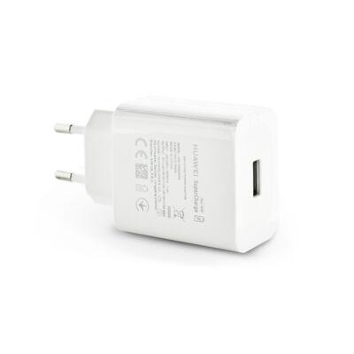 Huawei gyári USB hálózati töltő adapter - 5V/2A és 9V/2A és 10V/4A - SuperCharge HW-100400E00 white (ECO csomagolás)