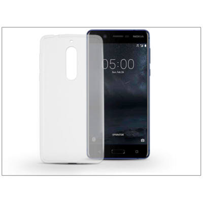 Nokia 5 szilikon hátlap - Ultra Slim 0,3 mm - transparent