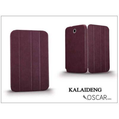 Samsung N5100 Galaxy Note 8.0 tok (Book Case) - Kalaideng Oscar Series - dark red