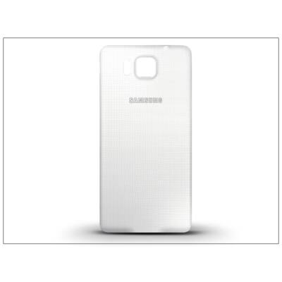 Samsung SM-G850 Galaxy Alpha gyári akkufedél - fehér