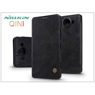 Microsoft Lumia 950 oldalra nyíló flipes tok - Nillkin Qin - fekete