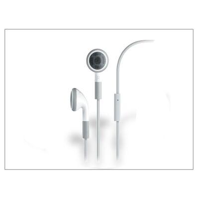 Univerzális sztereó headset mikrofonnal - fehér - utángyártott