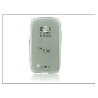 Nokia Lumia 530 szilikon hátlap - Ultra Slim 0,3 mm - fekete