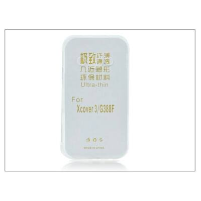 Samsung SM-G388F Galaxy Xcover 3 szilikon hátlap - Ultra Slim 0,3 mm - transparent