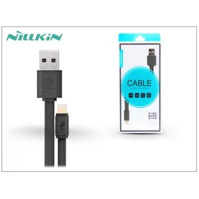 Apple iPhone 5/5S/5C/SE/iPad 4/iPad Mini USB töltő- és adatkábel 1,2 m-es vezetékkel - Nillkin Cable Lightning - fekete