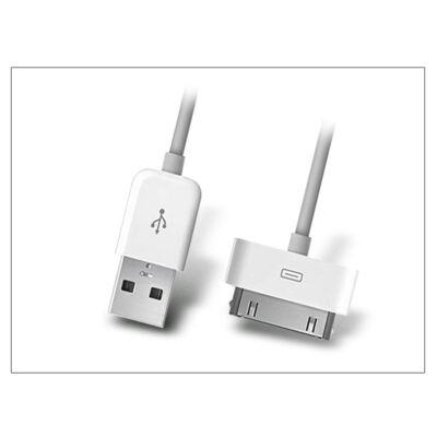 Apple iPhone 2G/3G/3GS/4/4S/iPad/iPod eredeti, gyári USB töltő- és adatkábel 100 cm-es vezetékkel - MA591G/A