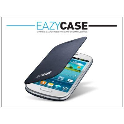 Samsung i8190 Galaxy S III mini flipes hátlap - EFC-1M7FBEGSTD utángyártott - dark blue
