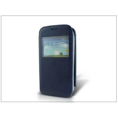 Samsung S7270 Galaxy Ace 3 S-View flipes tok - sötétkék
