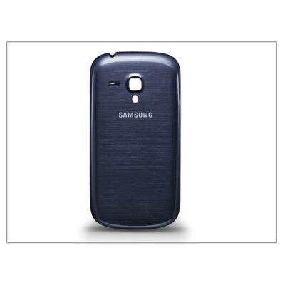 Samsung i8190 Galaxy S III Mini gyári akkufedél - kék
