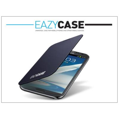 Samsung N7100 Galaxy Note II flipes hátlap - EFC-1J9FBEGSTD utángyártott - dark blue
