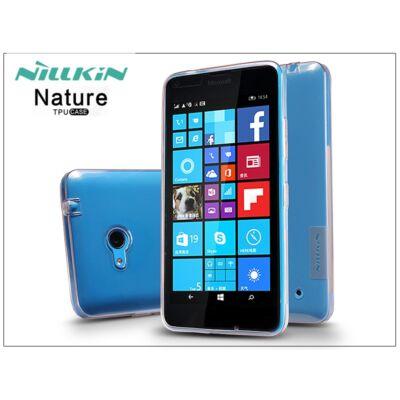 Microsoft Lumia 640 szilikon hátlap - Nillkin Nature - aranybarna