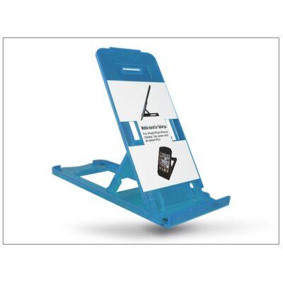 Univerzális asztali telefon + tablet tartó - kék