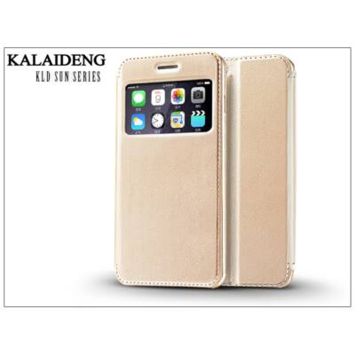 Apple iPhone 6 Plus flipes tok - Kalaideng Sun Series View Cover - golden