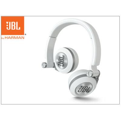 JBL univerzális sztereó fejhallgató - 3,5 mm jack - JBL Synchros E30 On-Ear Headphones - white (csomagolás sérült)