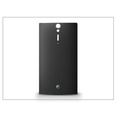 Sony Xperia S (LT26i) gyári akkufedél - fekete