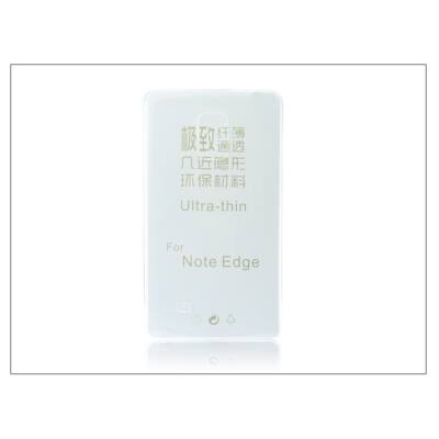 Samsung SM-N915 Galaxy Note Edge szilikon hátlap - Ultra Slim 0,3 mm - transparent
