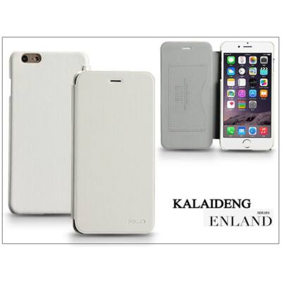 Apple iPhone 6 Plus flipes tok - Kalaideng Enland Series - white
