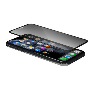 iGlass Privacy Pro üvegfólia - iPhone Xs Max/11 Pro Max - fekete