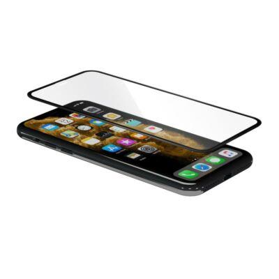 iGlass Pro kijelzővédő üvegfólia - iPhone XR/11 - fekete