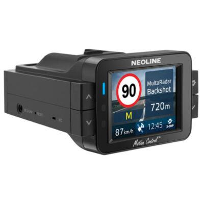 Neoline X-COP 9100S menetrögzítő kamera és radardetektor (GPS + RD)
